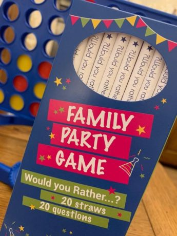 Family Party 'Would Your Rather' Straws - Pack of 20 straws, 8mm x 200mm