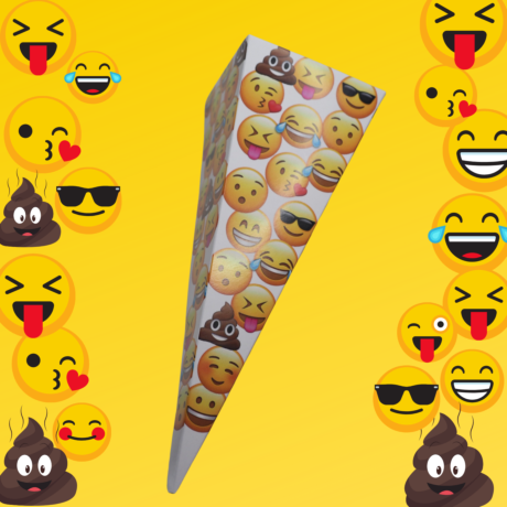 Emoji Sweet Cones - Filled or Un-Filled - Eco Friendly
