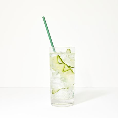 Eco Green Extra Long Narrow Paper Drinking Straw 240x6mm - Wholesale