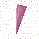 Unicorn Sweet Cones - Filled or Un-Filled - Eco Friendly