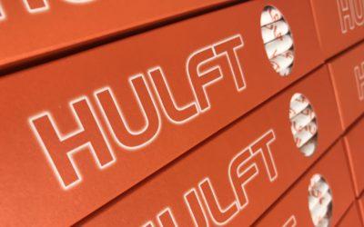 Hulft – Branded Paper Straws for Awards Dinner