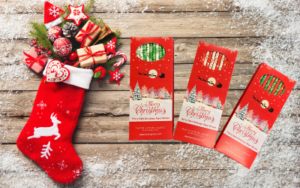 Paper Straw Christmas Stocking Fillers